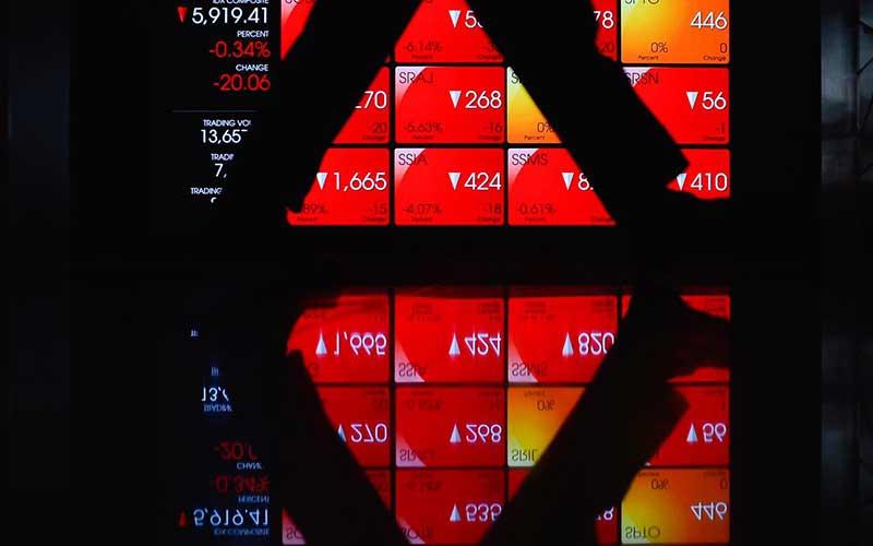 SOFA MLPT IHSG NOBU 10 Saham Top Losers Hari Ini, Selasa 29 Juni 2021, Ada Grup Lippo NOBU & MLPT - Market Bisnis.com
