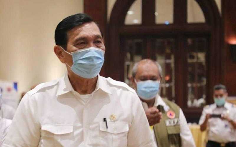 Luhut mengatakan jangan sampai ada masyarakat indonesia tidak makan !
