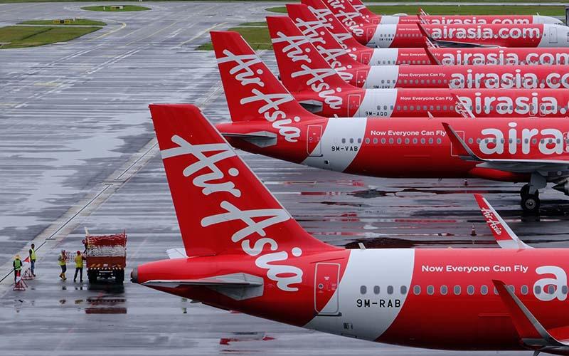 CMPP Mengukur Strategi Setop Terbang AirAsia di Tengah PPKM Darurat - Ekonomi Bisnis.com