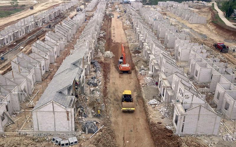 Ilustrasi pembangunan perumahan di Tangerang, Banten. - Istimewa