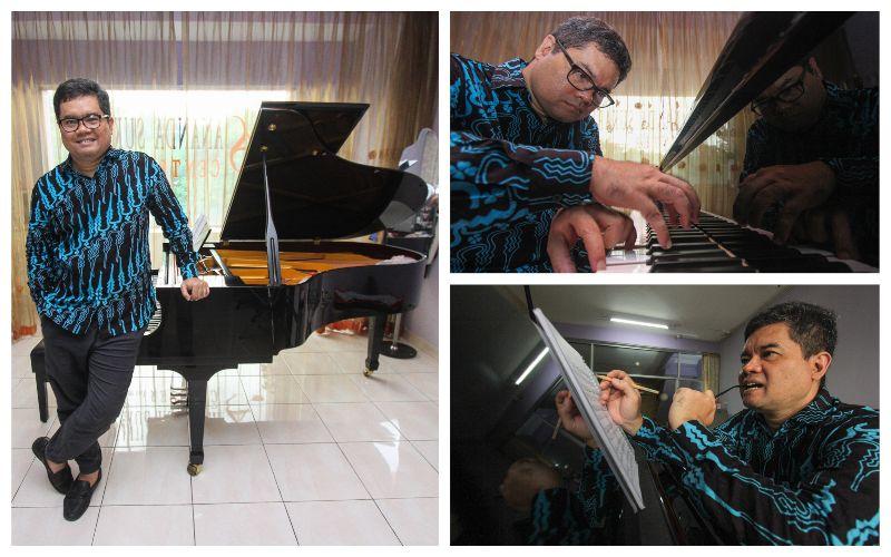 ANANDA SUKARLAN : Sekolah Musik & Pianis Berkarakter Indonesia