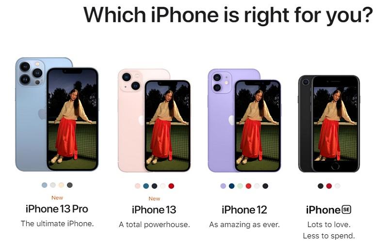 PONSEL PINTAR : Inilah Parade IPhone Terbaru