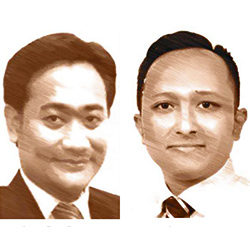 Agung Bayu Purwoko & Abdurrahman Alfarizi
