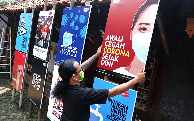Poster Lawan Covid 19 Bisnis Com