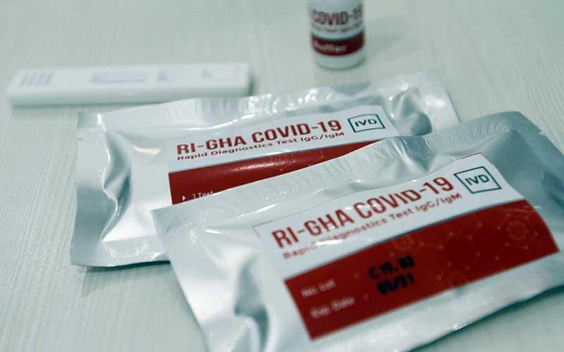 Ri Gha Alat Rapid Test Covid 19 Buatan Indonesia Diklaim Lebih Sensitif Bisnis Com