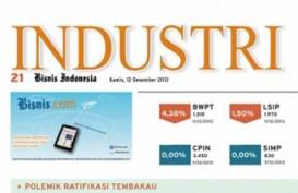 Bisnis Indonesia Edisi Cetak Jumat (10/1/2014), Seksi Industri