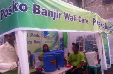 Peduli Pengungsi Banjir, Band Wali Buka Posko di Kampung Melayu