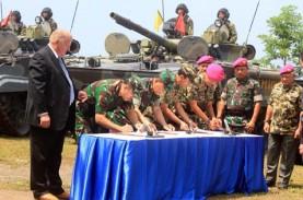 Korps Marinir TNI AL Tambah 37 Unit Tank Amfibi BMP-3F
