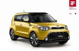 Kia Soul Raih Penghargaan IF Product Design Award