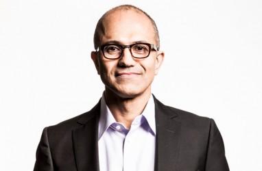 Satya Nadella Resmi Jadi CEO Baru Microsoft