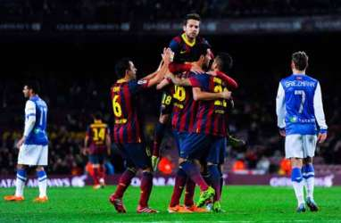 Copa Del Rey:  Barcelona Terlalu Kuat Bagi Sociedad