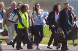 Gaya Putra Pangeran William Menikmati Penerbangan Perdananya