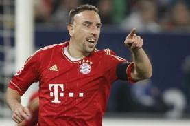 Liga Champions 2014: Ribery Absen Bela Bayern Kontra…