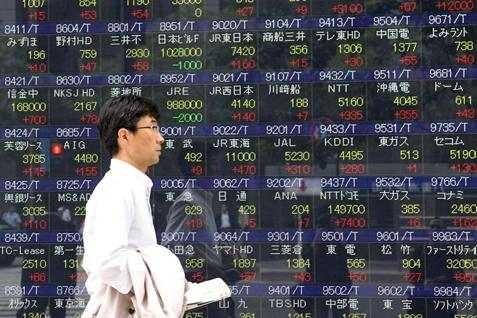 Bursa Jepang menguat