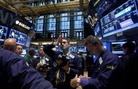 Saham AS Naik, Treasuries Mundur di Tengah Optimisme Ekonomi