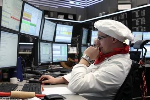 Suasana perdagangan di salah satu bursa Eropa - Reuters