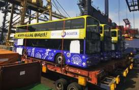 5 Unit Bus Tingkat Pariwisata Mobil Baru