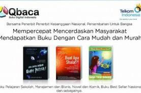 PT Telkom Perluas Konten Buku Digital Qbaca