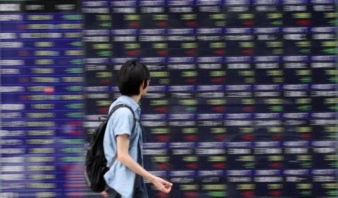 Indeks Nikkei anjlok pagi ini