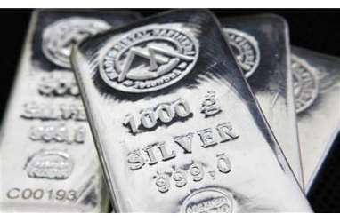 Harga Perak Dibuka Melemah 0,46% ke US$20,8/T oz