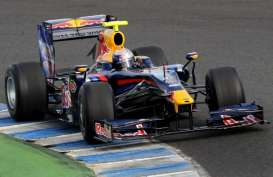 Casio Dukung Tim F1 Infinity Red Bull Racing Hingga 2015