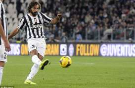 Liga Europa 2014: Skor Akhir Juve vs Fiorentina 1-0, Pirlo Cemerlang