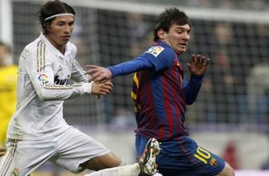 Hasil LIGA SPANYOL: Real Madrid Dihajar Barcelona 3-4, Messi Hattrick
