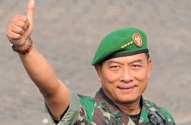 Ditanya Kesiapan Dampingi Jokowi, Jenderal Moeldoko Bungkam