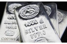 Harga Perak Dibuka Melemah 0,6% ke US$19,95/T. Oz
