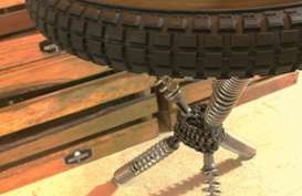 Furniture Unik Ini Terbuat dari Limbah Onderdil Motor