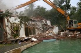 Pemko Sumut Bersihkan Bangunan Tanpa IMB