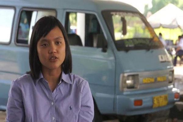 Shana tidak terlihat seperti direktur sebuah perusahaan, tetapi lebih seperti volunteer LSM karena selalu mengusung isu-isu lingkungan.  - bisnis.com