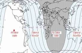 GERHANA BULAN TOTAL: Indonesia Hanya Bisa Melihat Gerhana Bulan Sebagian Mulai Matahari Terbenam Sore Ini