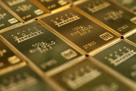 Pada pukul 05.46 WIB, harga emas kembali melemah US0,03 per gram ke level US41,87 per gram. - bisnis.com