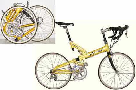 Harga sepeda lipat baru, kisarannya dimulai dari sekitar Rp1,5 juta sampai Rp6 juta.  - istimewa