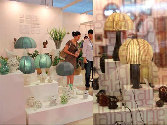 Vietnam Handicraftand Housewares Association(Vietcraft) dan BadanPromosi PerdaganganVietnam (Vietrade) menggelar LifeStyle Vietnam sejak 2009 dengan tujuan untuk menghadirkan produk-produk terbaik Asia dengan kategori dekorasi, denderamata, dan peralatan rumah tangga. - vdesign/living