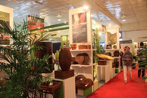 Paviliun Indonesia tercatat telah dikunjungi 164 calon pembeli dari berbagai negara.  - decoratorscatalogue.com.au