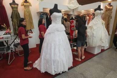 Gaun pengantin.  -  Bisnis.com