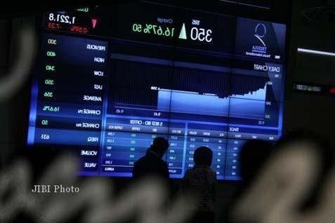 Indeks bursa saham. Harga saham melalui Indeks Bisnis 27 - JIBI
