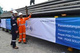 KONVERSI BBG: PGN Bangun Klaster Penyaluran Gas Jateng