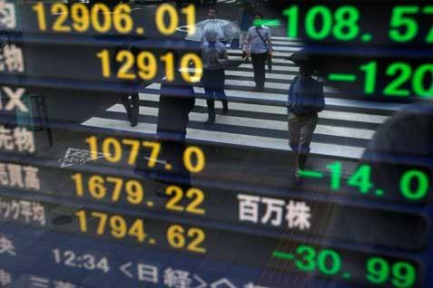 Nikkei melejit pagi ini