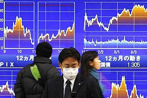 Salah satu bursa di Asia Pasifik. Indeks MSCI naik jelang penutupan - Reuters