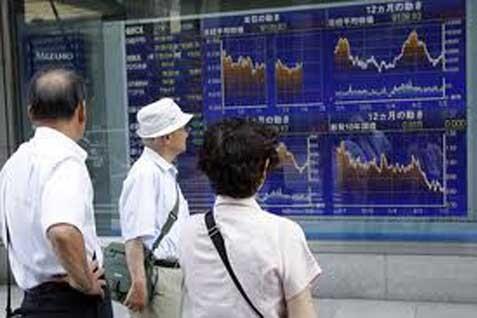 Salah satu bursa di Asia. Indeks MSCI  Melemah 0,3% - Reuters