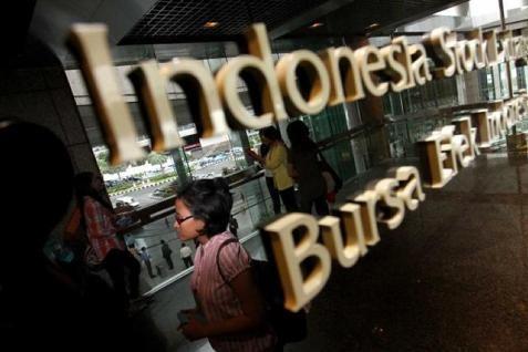 IHSG ditutup menguat 0,13% pada perdagangan Jumat (25/4/2014).  -  Bisnis.com