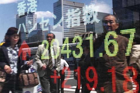 Bursa Hong Kong melemah pagi ini