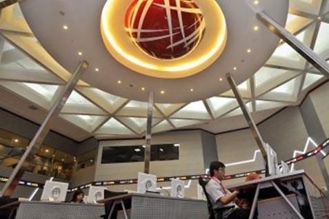 Perdagangan di BEI. IHSG dituntup anjlog - Bisnis