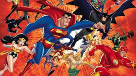 Ilustrasi-Versi komik Justice League - craveonline