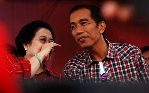 Mega dan Jokowi