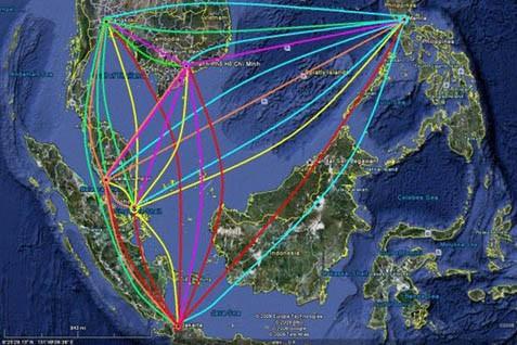 Jaringan bursa Asia Tenggara. Perdagangan di masing-masing bursa menguat kecuali singapura - Reuters