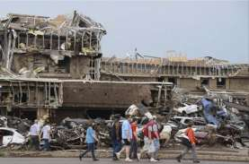 35 Warga AS  Tewas Diterjang Tornado